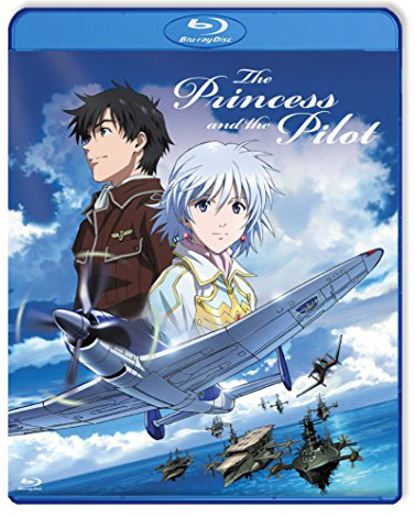 The Princess and the Pilot Standard Edition Blu-ray 813633015958