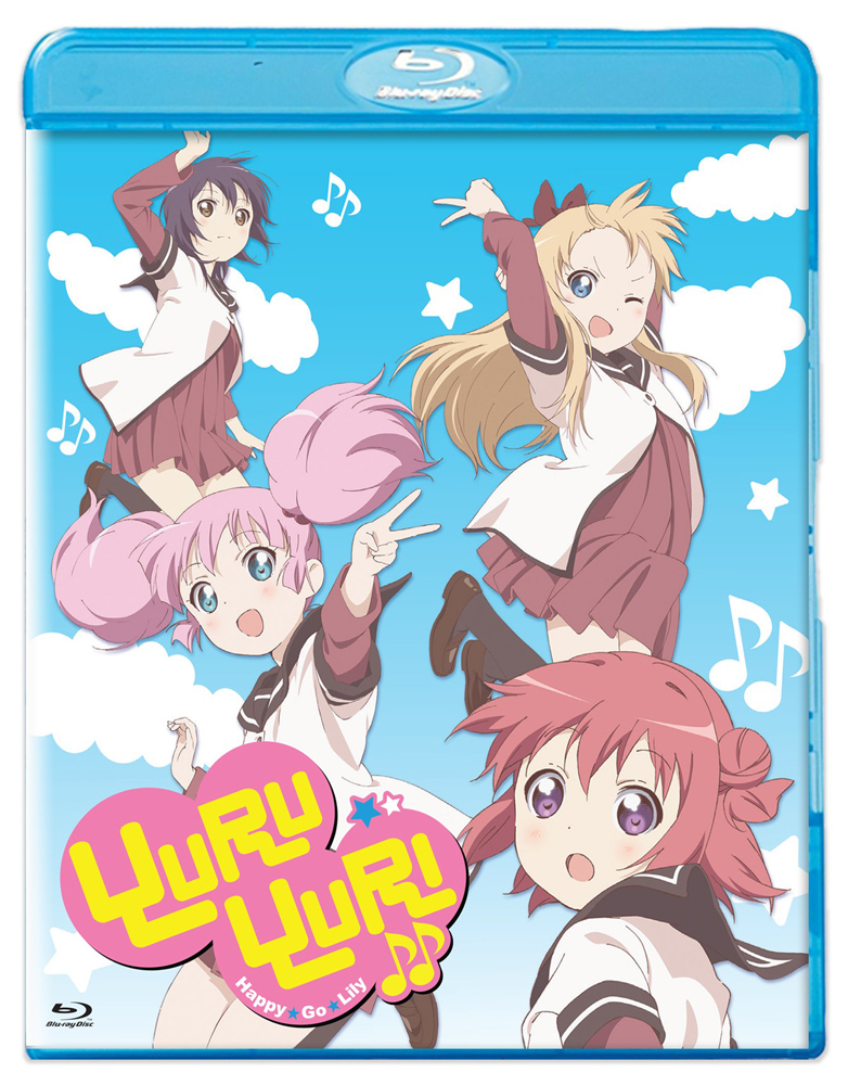 Yuruyuri: Happy Go Lily Season 2 Standard Edition Blu-ray 813633016627