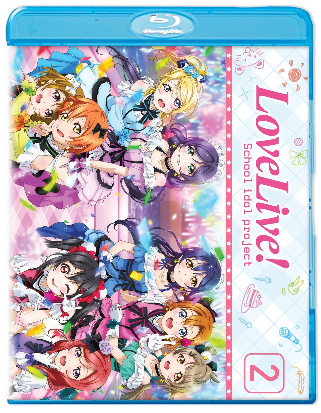 Love Live! School Idol Project Season 2 Blu-ray 813633017150