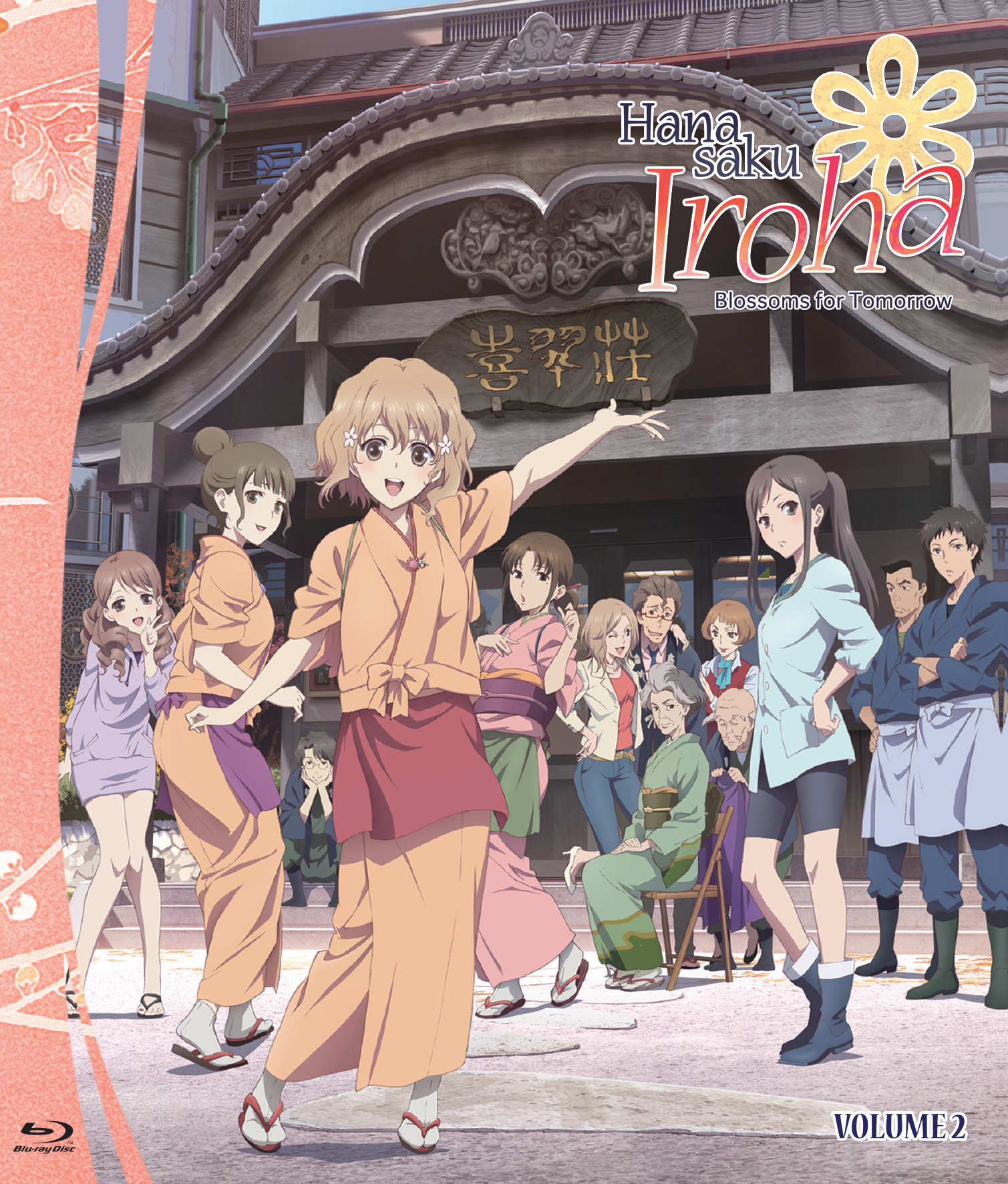 Hanasaku Iroha Blossoms for Tomorrow Set 2 Blu-ray 813633017594