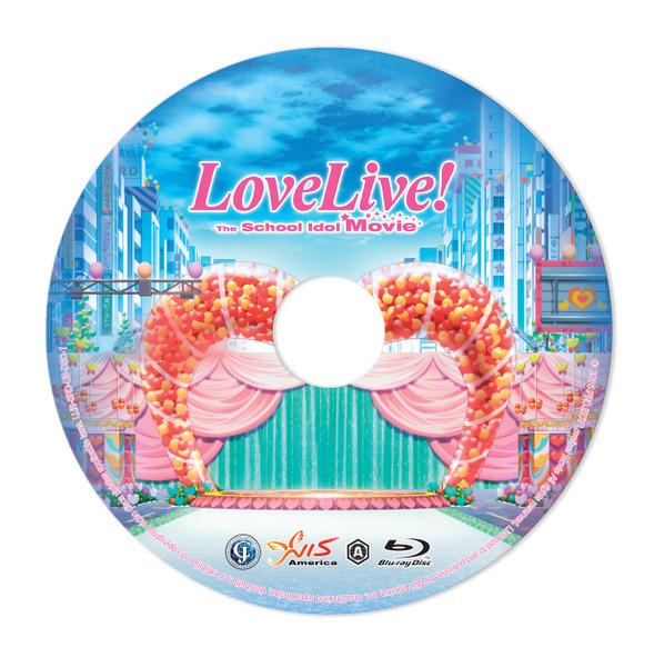 Love Live! The School Idol Movie Standard Edition Blu-ray