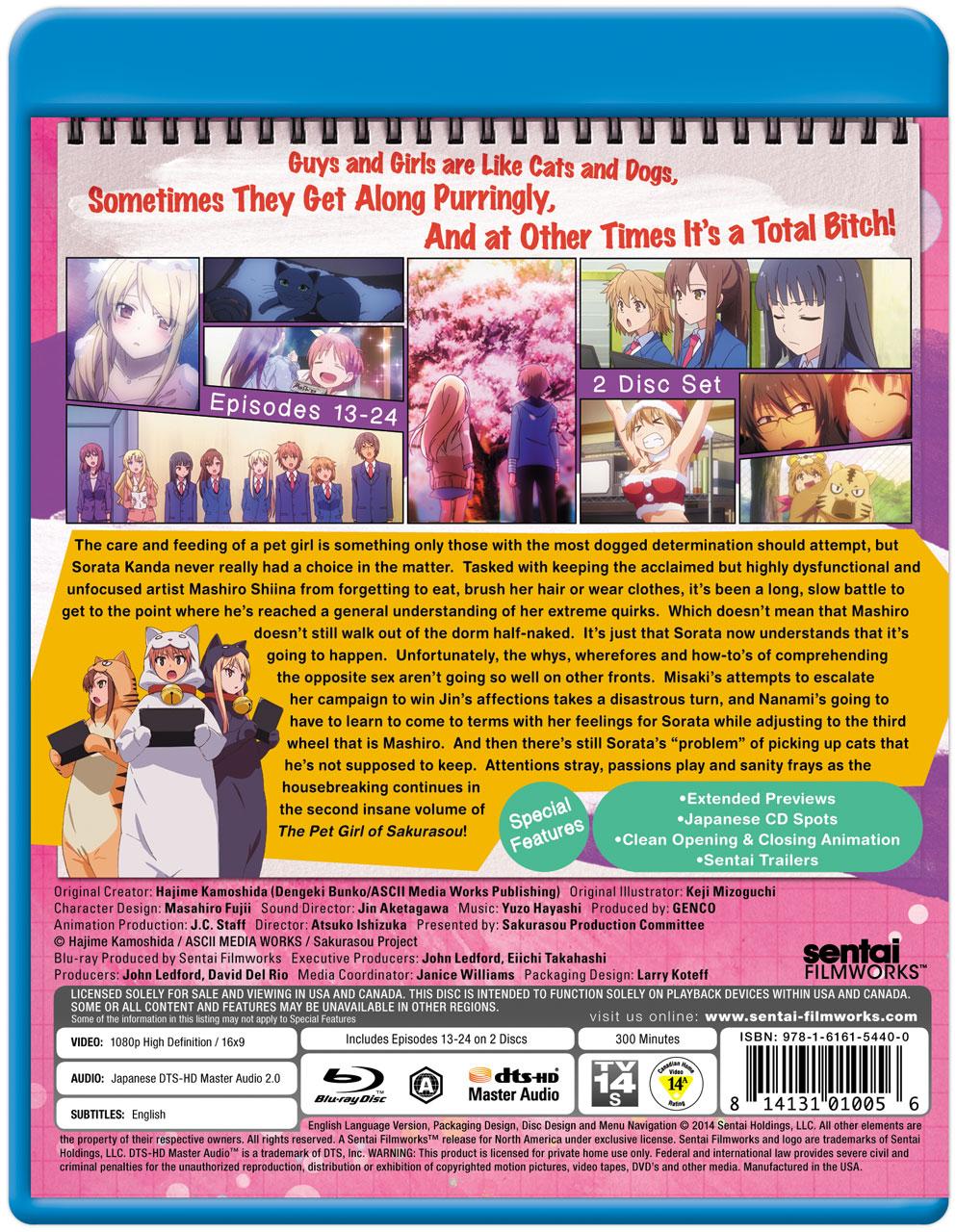 Pet Girl of Sakurasou BD Collection 2