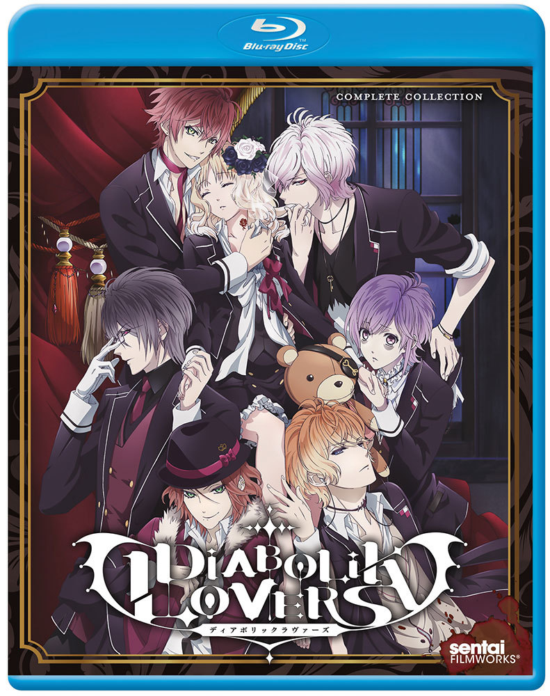 Diabolik Lovers Blu-ray 814131010162