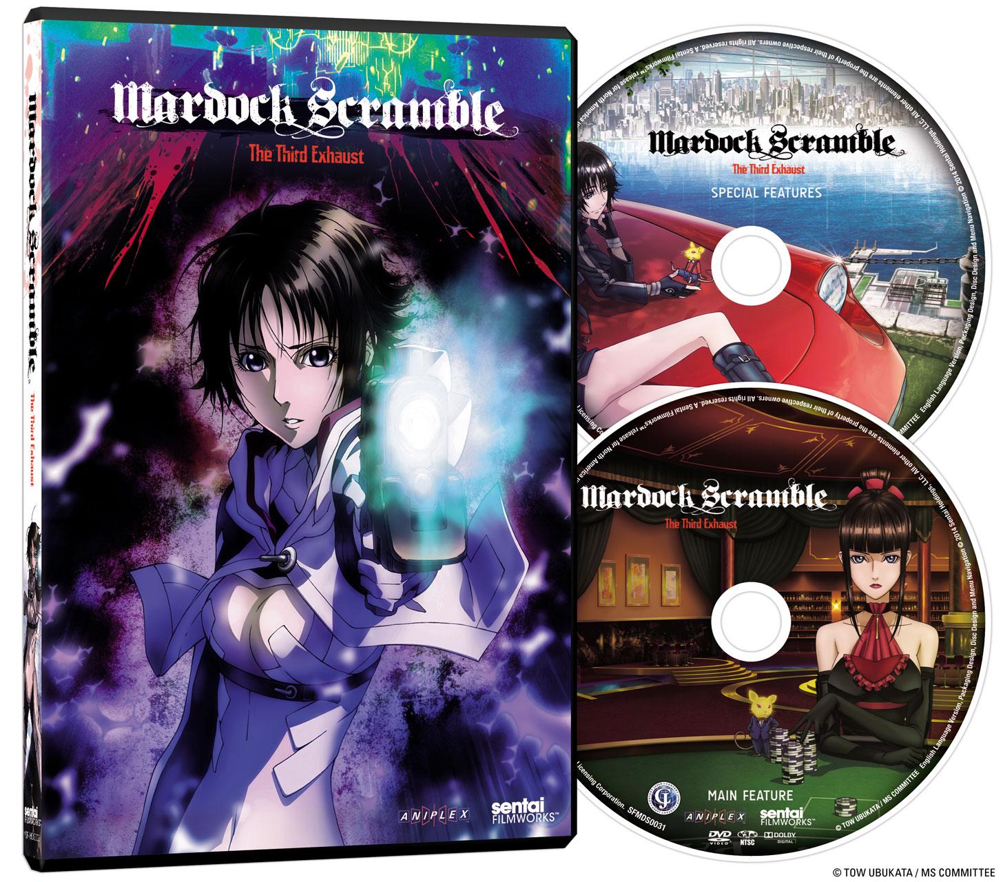 Mardock Scramble The Third Exhaust DVD Director's Cut
