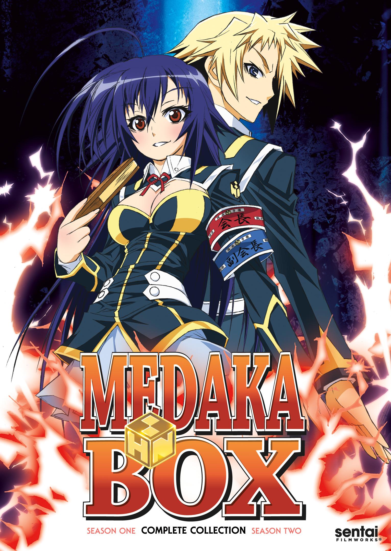 Medaka Box Complete Collection Dvd