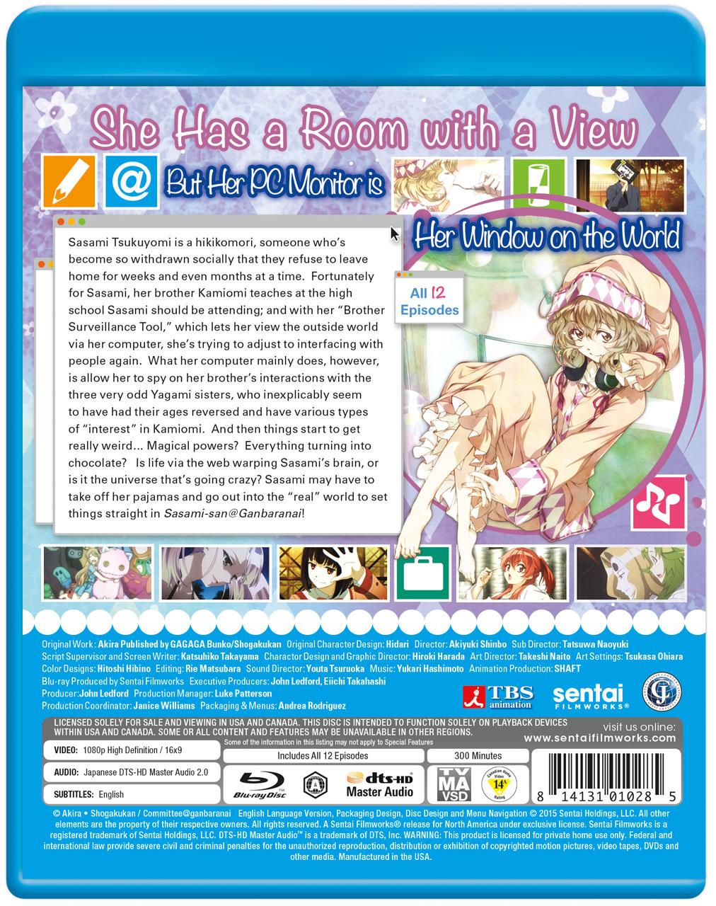 Sasami-san@Ganbaranai Blu-ray