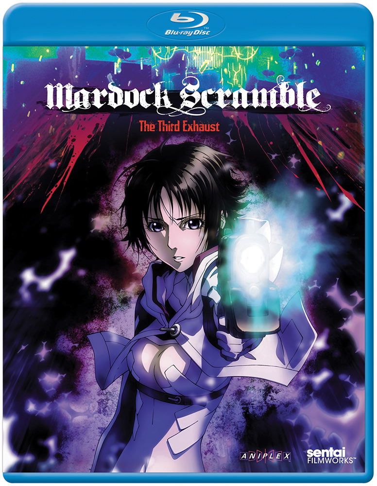 Mardock Scramble The Third Exhaust Blu-ray Director's Cut 814131010353