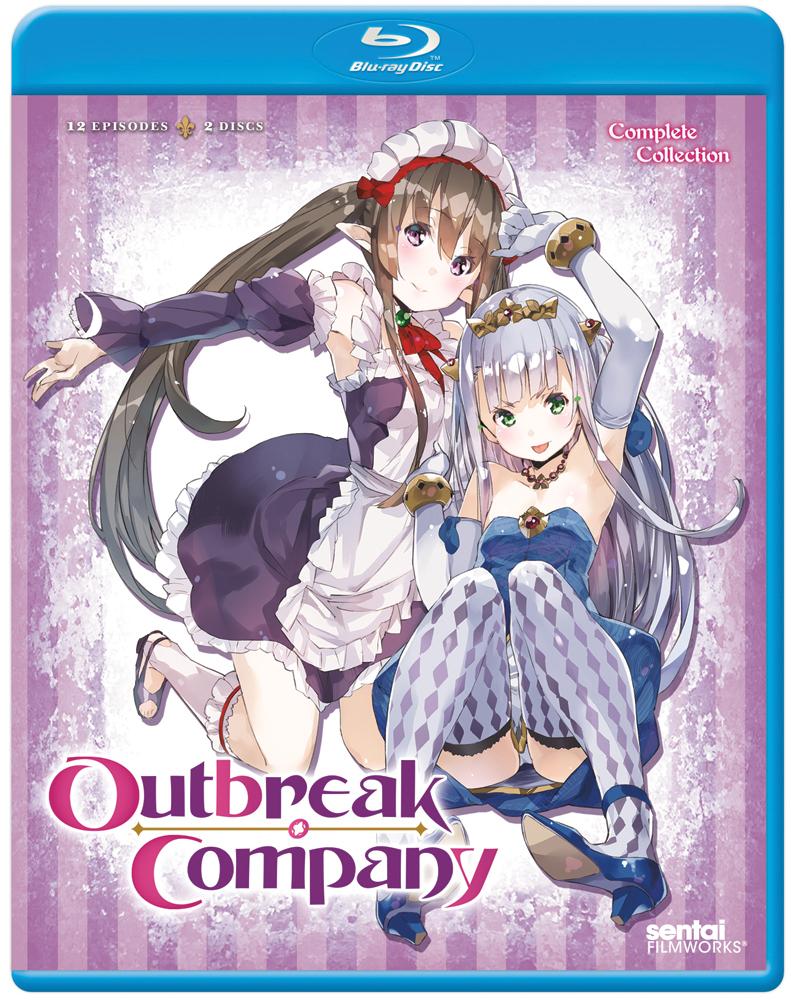 Outbreak Company Blu-ray 814131010360