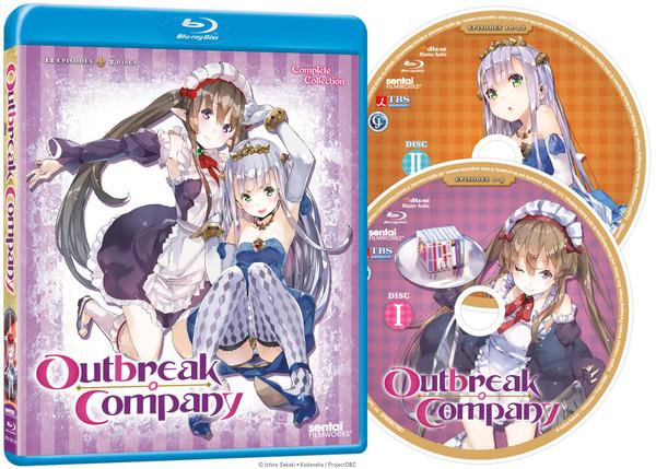 Outbreak Company Blu-ray