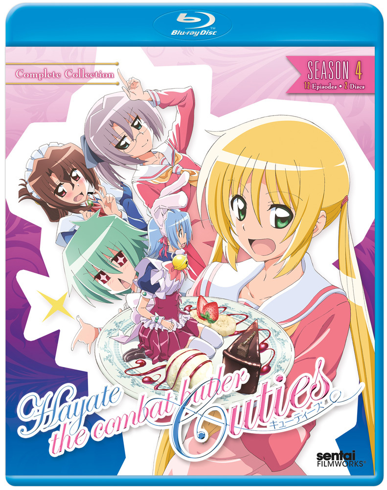 Hayate the Combat Butler Season 4 Cuties Blu-ray 814131010476