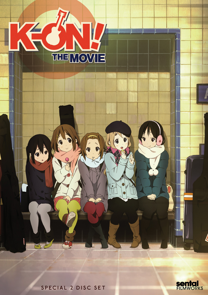 K-ON The Movie DVD 814131010544