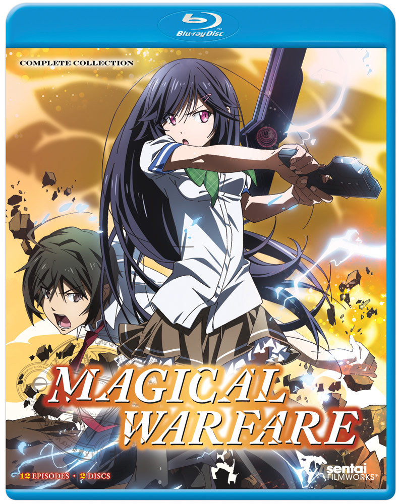 Magical Warfare Blu-ray 814131010575