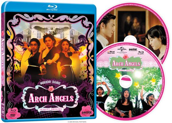 Arch Angels Blu-ray/DVD