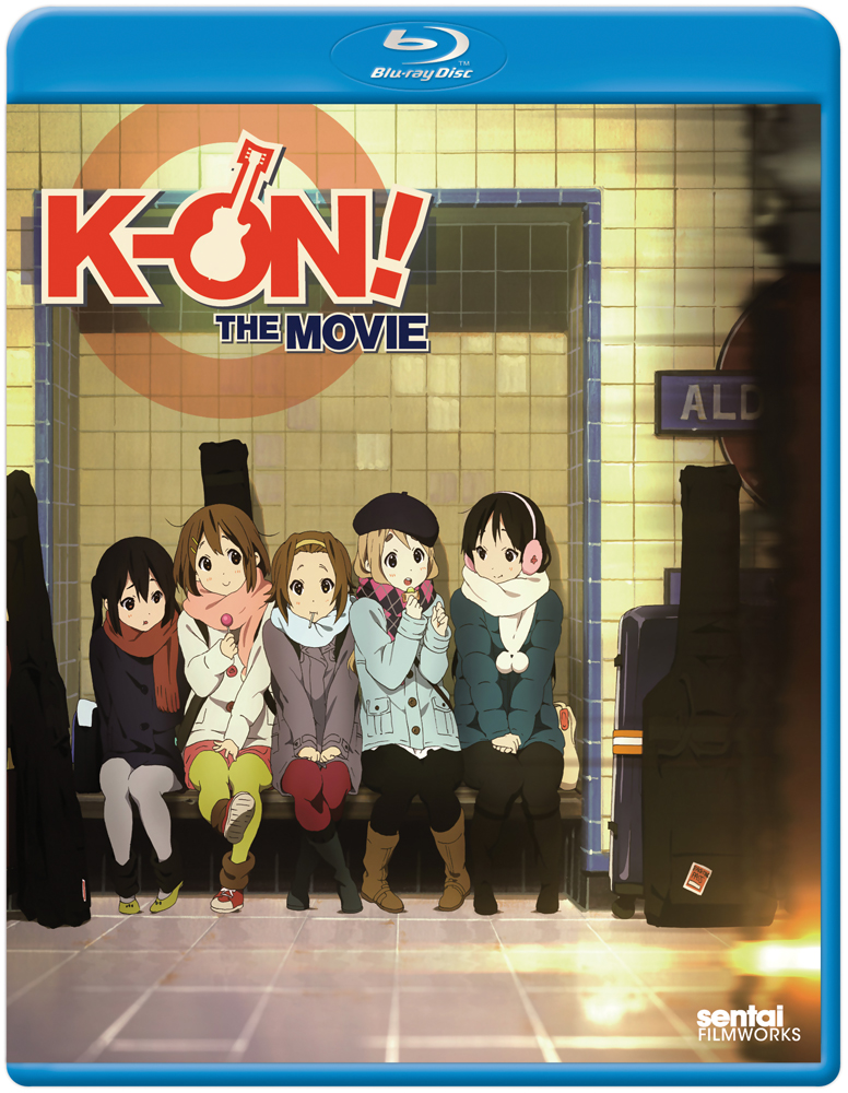 K-ON The Movie Blu-ray 814131010643