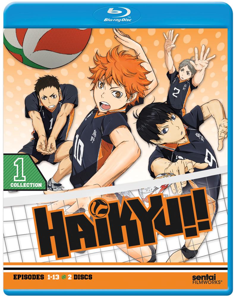 Haikyu!! Season 1 Collection 1 Blu-ray 814131010872