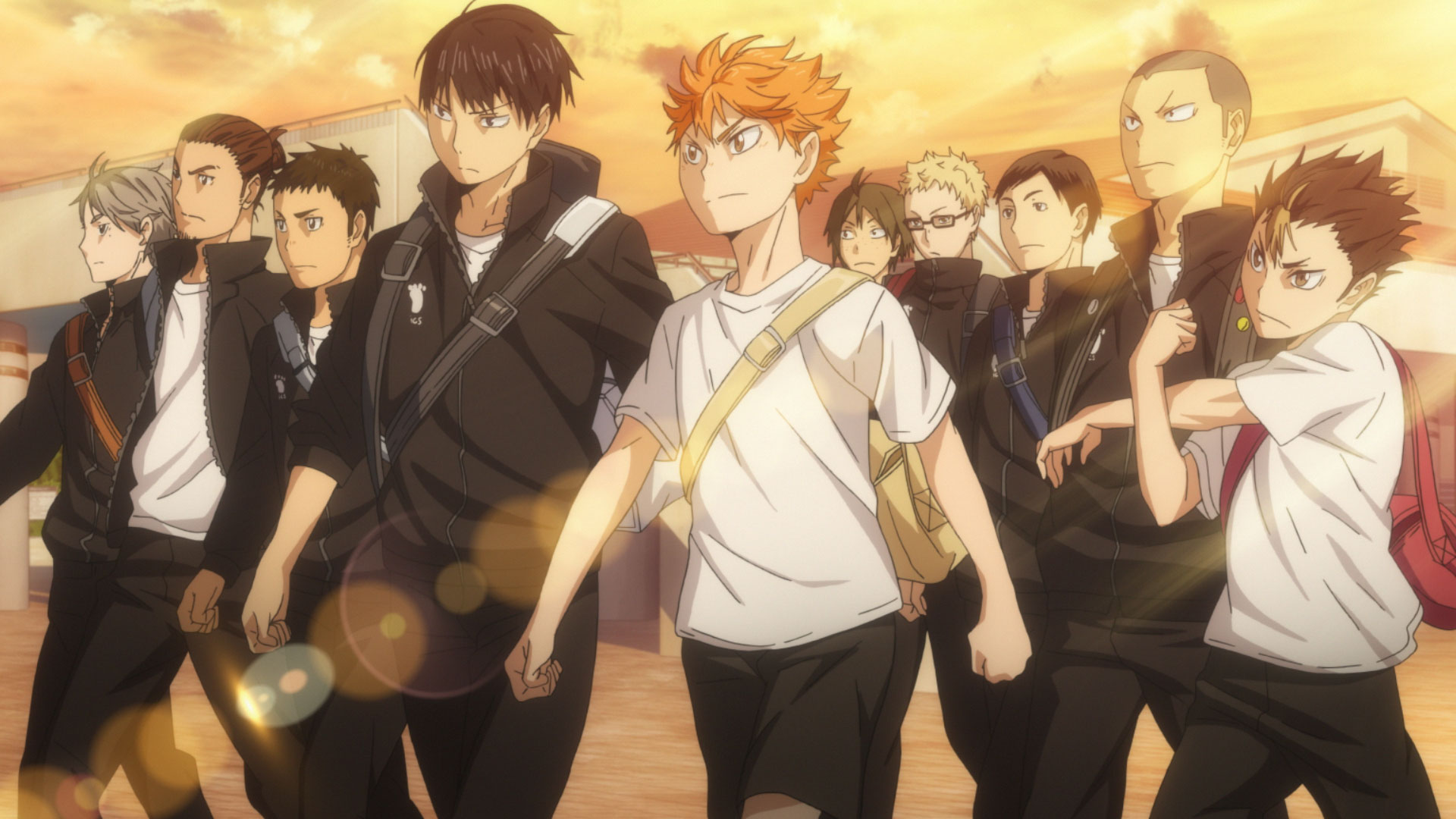 Image result for haikyuu season one first years