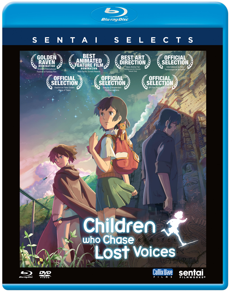 Children Who Chase Lost Voices Blu-ray/DVD Sentai Selects 814131010896