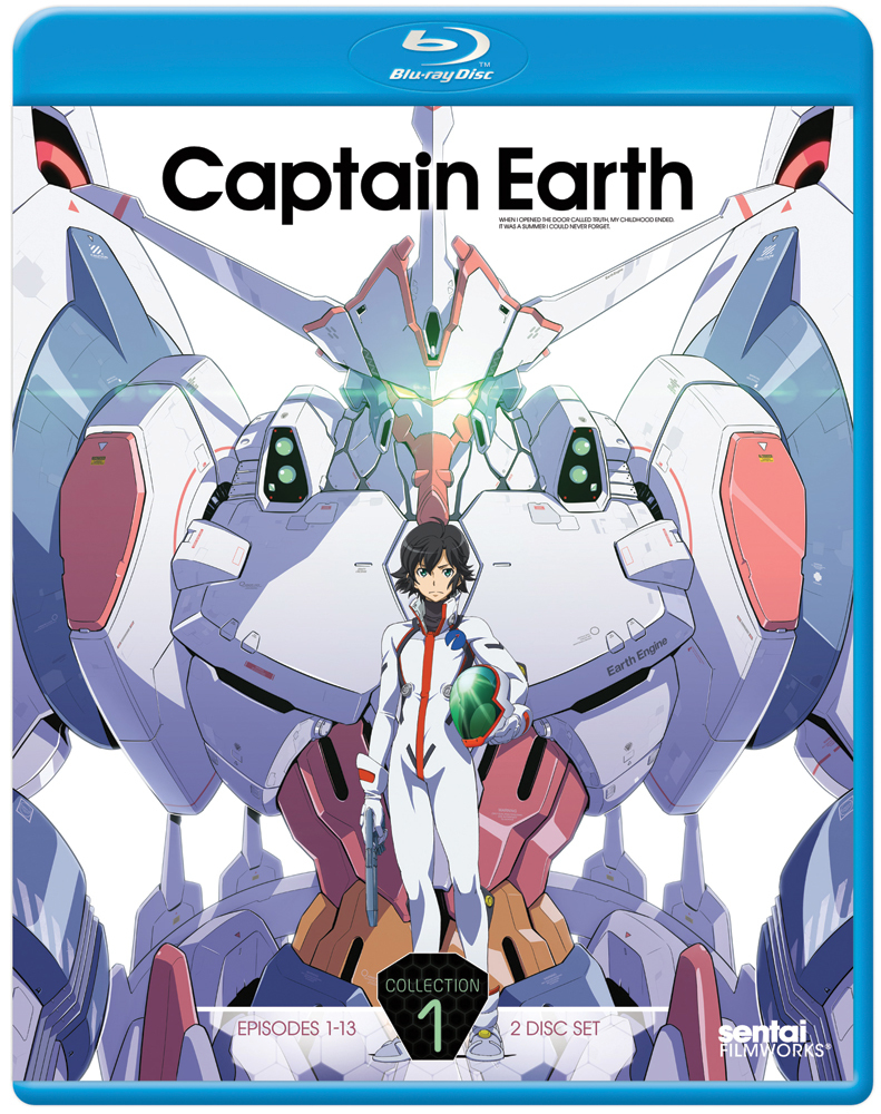 Captain Earth Collection 1 Blu-ray