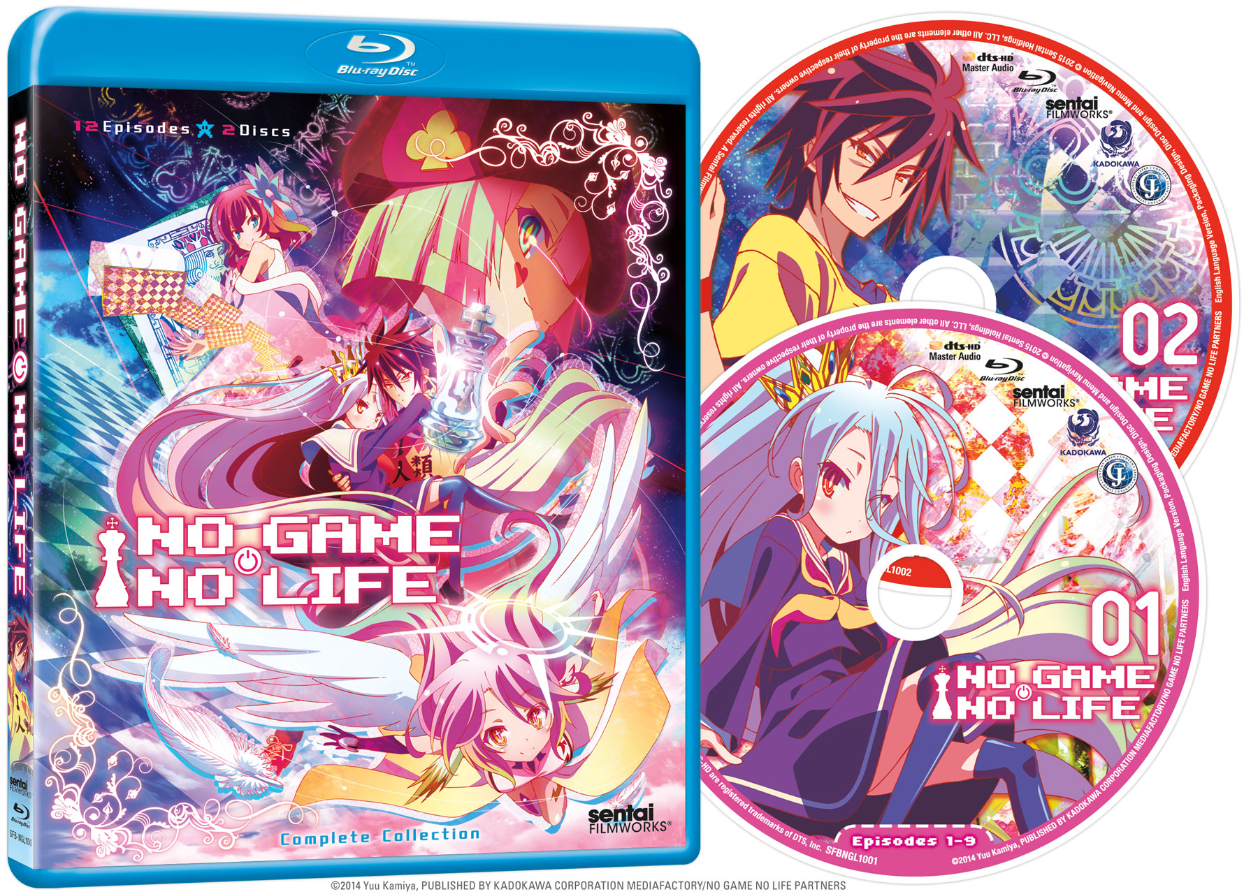 No Game No Life Blu-ray