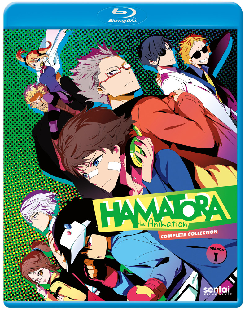 Hamatora the Animation Season 1 Blu-ray 814131011176