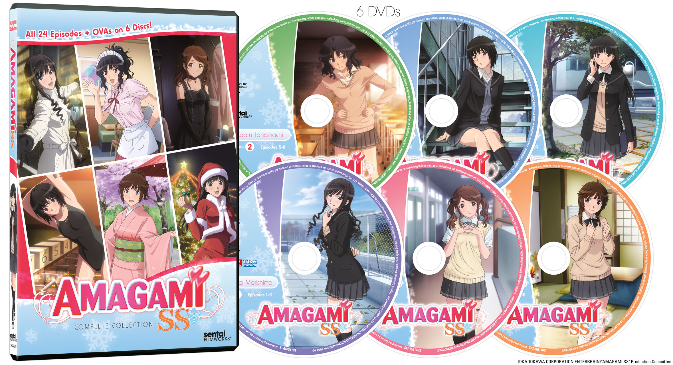 Amagami SS Complete Series DVD