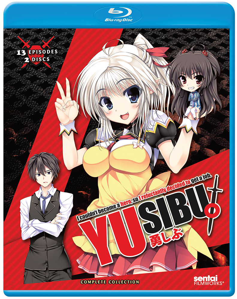 Yusibu I Couldn't Become a Hero, So I Reluctantly Decided to Get a Job Blu-ray 814131011466