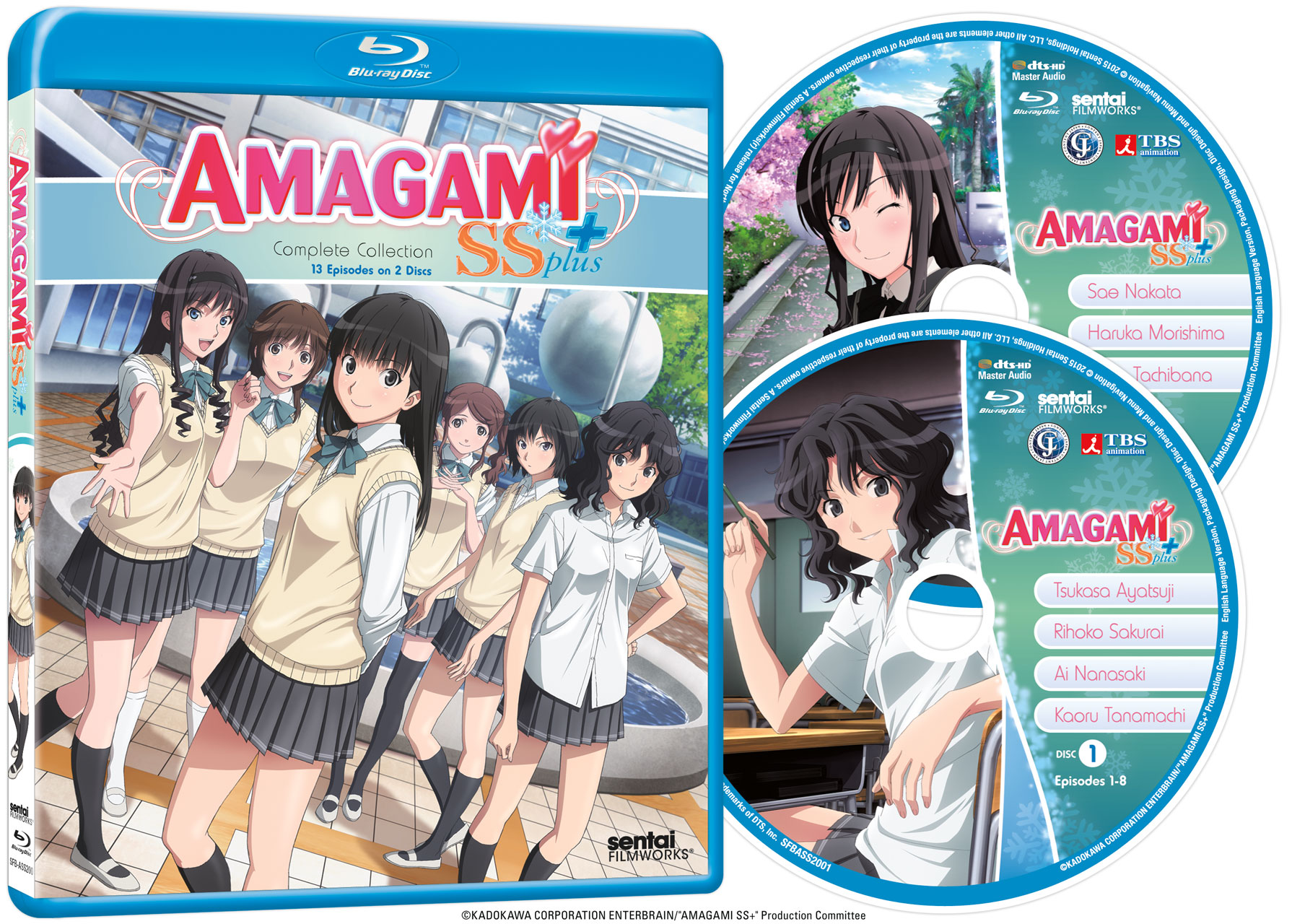 Amagami SS+ Complete Collection Blu-ray