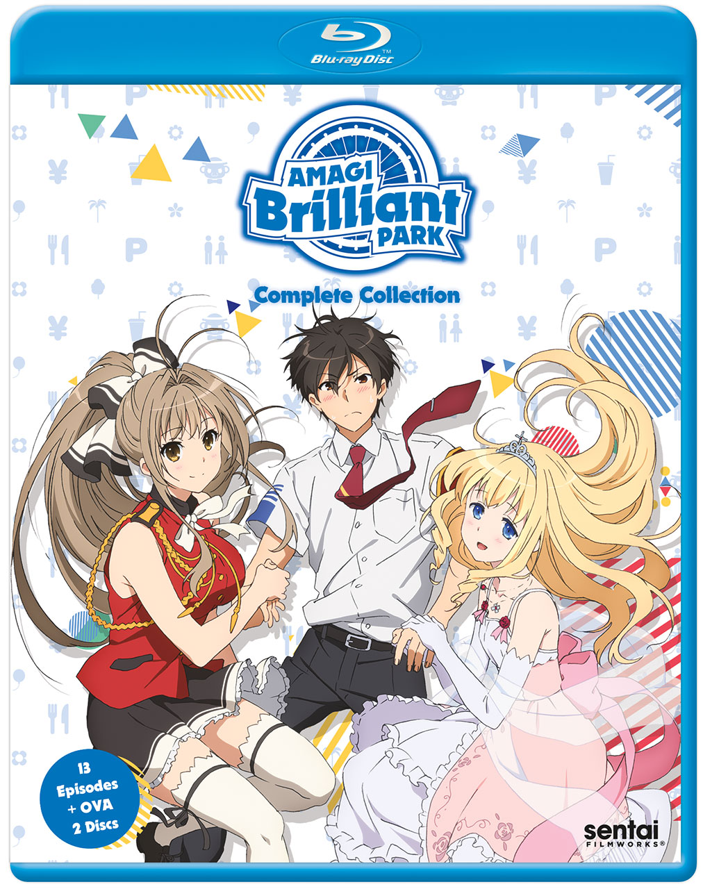 Amagi Brilliant Park Blu-ray 814131011695