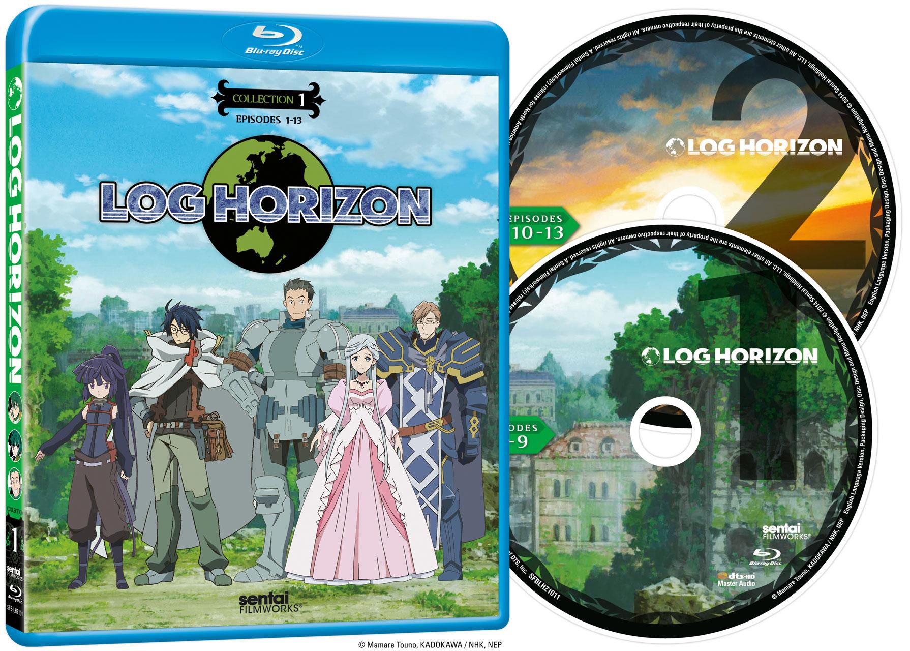 Log Horizon Collection 1 Blu-ray