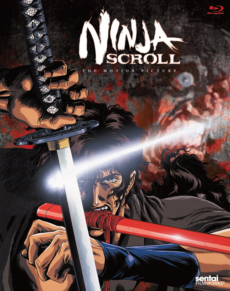 Ninja Scroll Blu-ray 814131011770