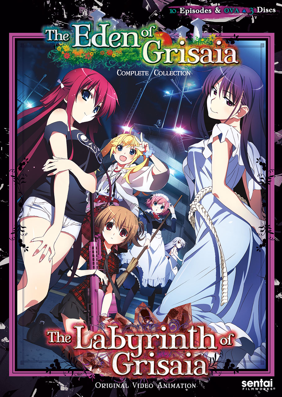 Labyrinth of Grisaia + Eden of Grisaia DVD 814131011794