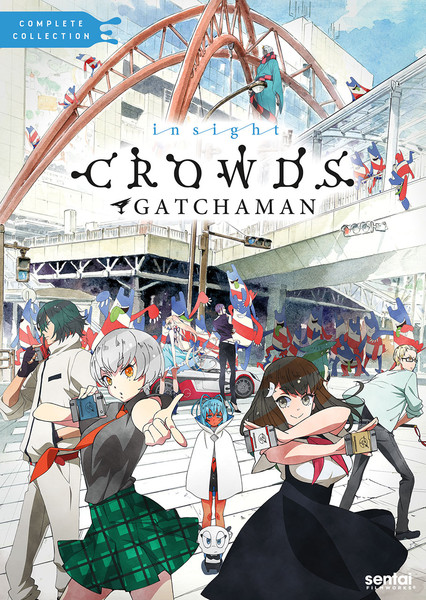 Gatchaman Crowds insight DVD
