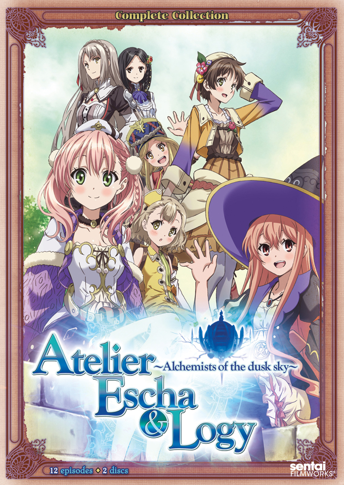 Atelier Escha & Logy Alchemists of the Dusk Sky DVD 814131011978