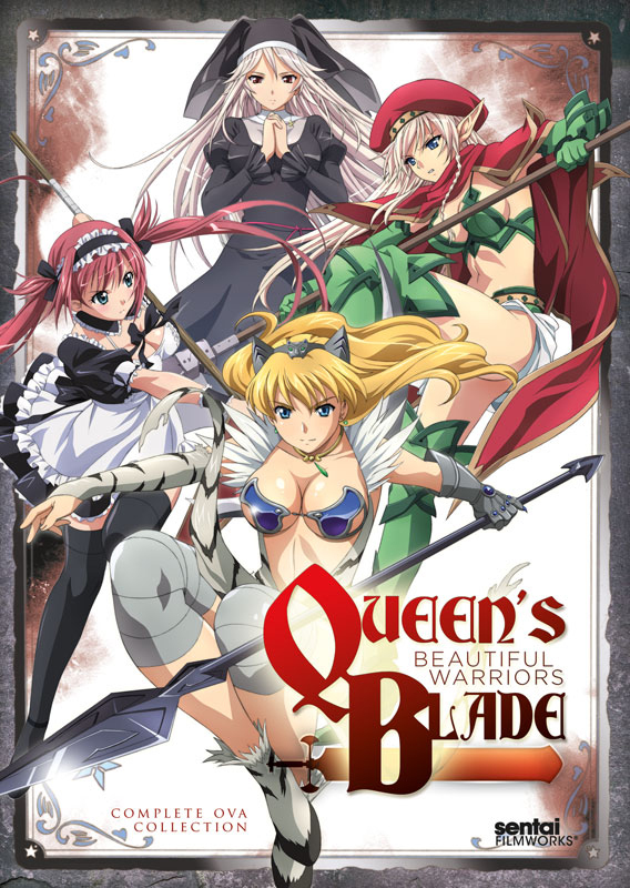 Queen's Blade OVA Beautiful Warriors DVD 814131012067