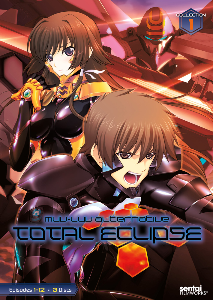 Muv-Luv Alternative Total Eclipse Collection 1 DVD 814131012166