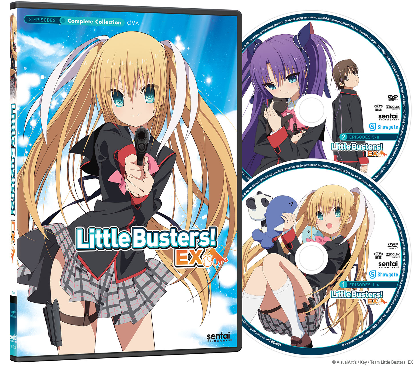 Little Busters Ex Dvd