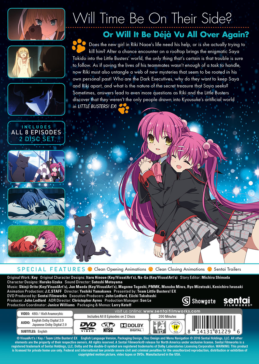 Little Busters! EX DVD