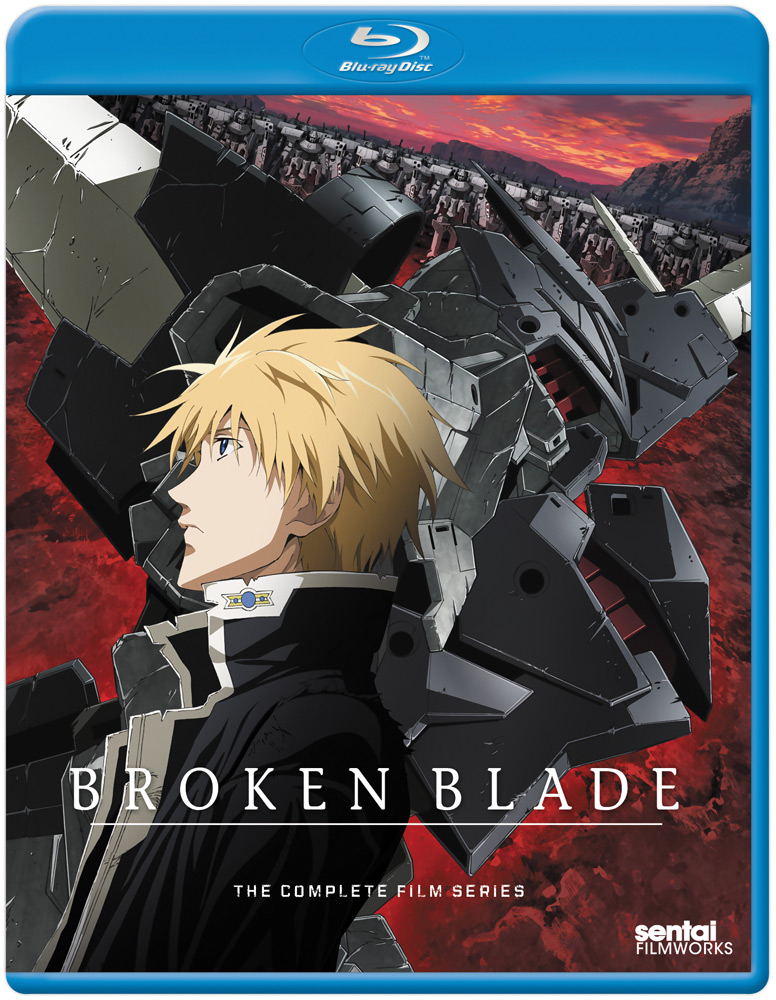Broken Blade Blu-ray 814131012319