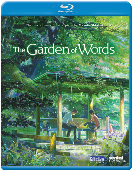 The Garden Of Words Blu-Ray