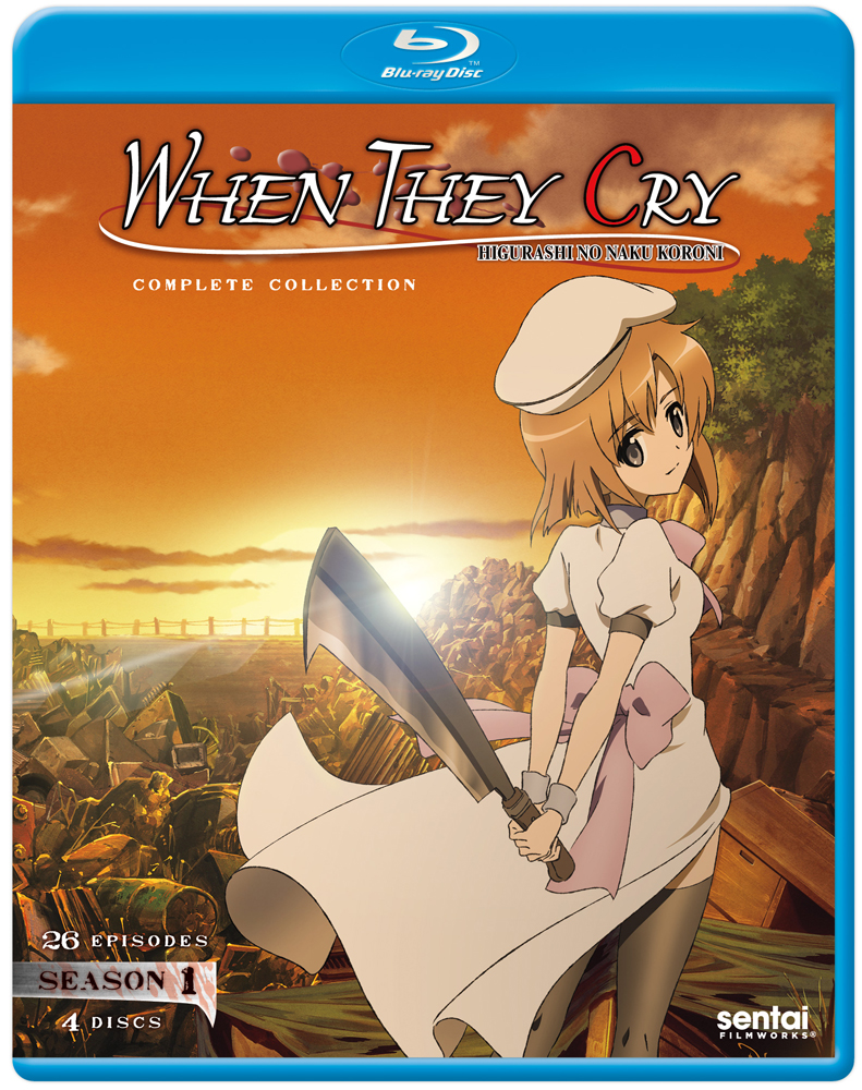When They Cry Season 1 Blu-ray 814131012494