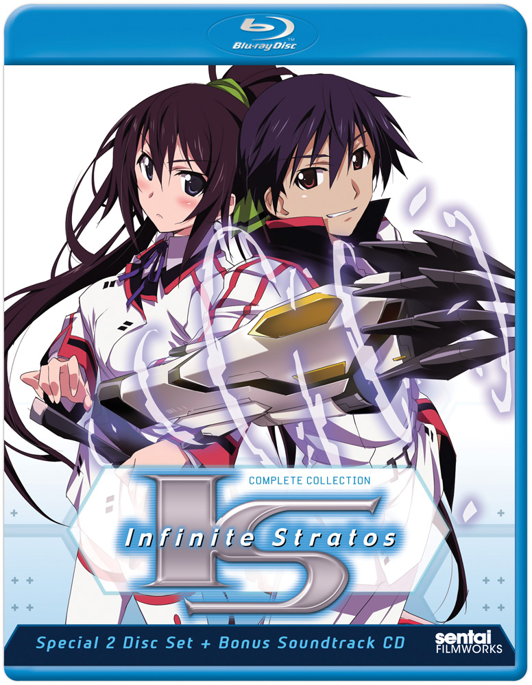 Infinite Stratos + Encore Blu-ray 814131012524