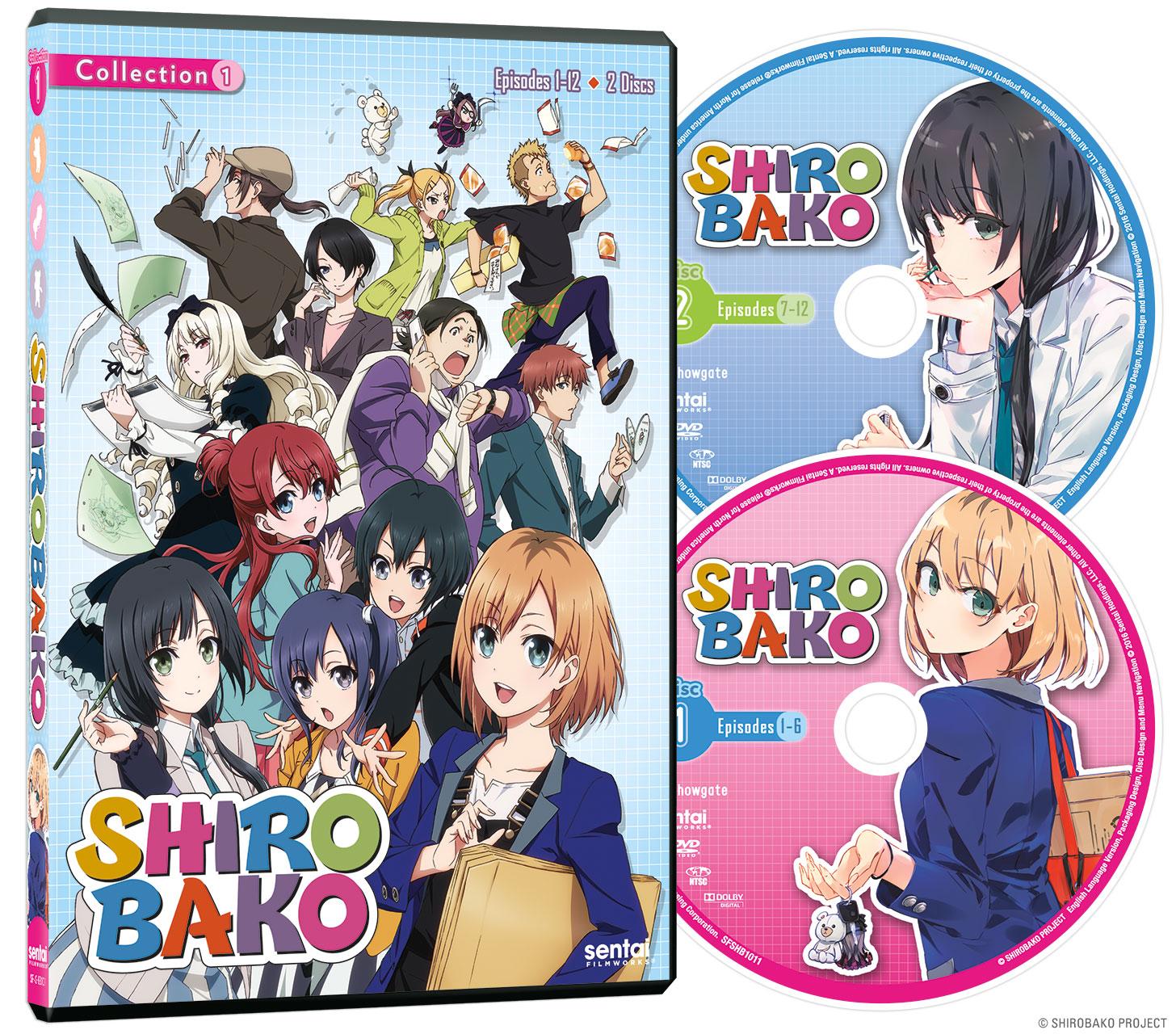 Shirobako Collection 1 DVD