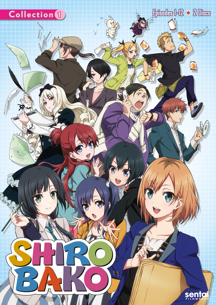 Shirobako Collection 1 DVD 814131012784
