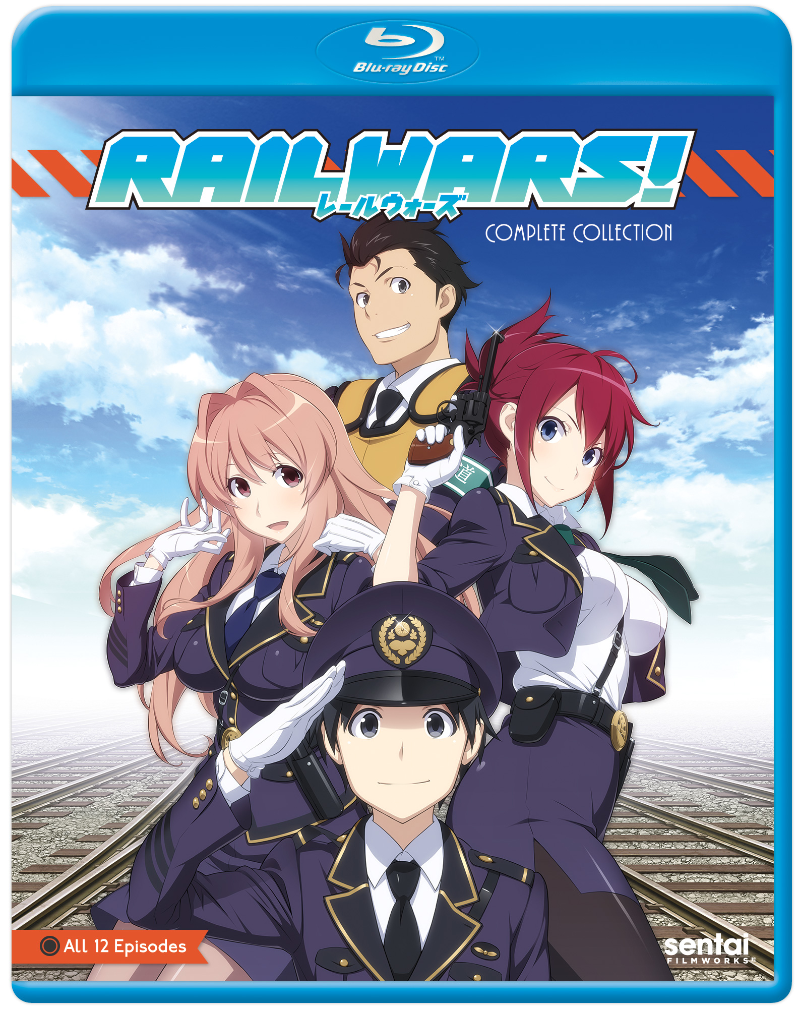 Rail Wars Blu-ray 814131012890