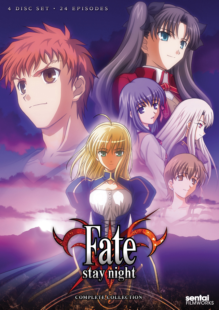 Fate/stay night Complete Collection DVD