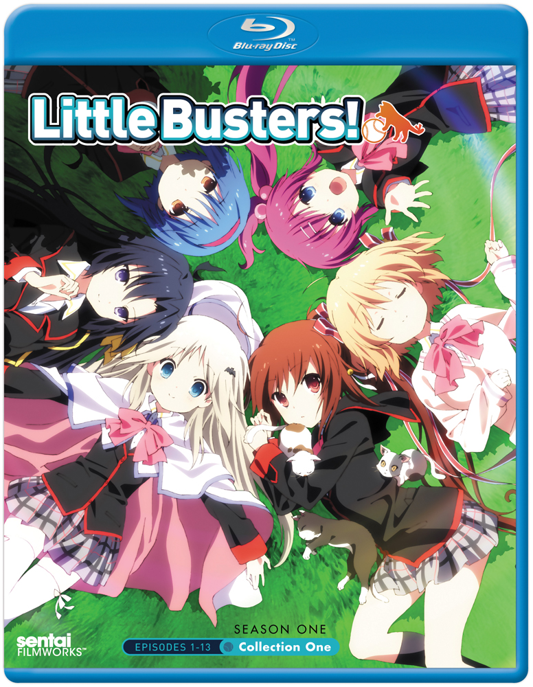 Little Busters Collection 1 Blu-ray
