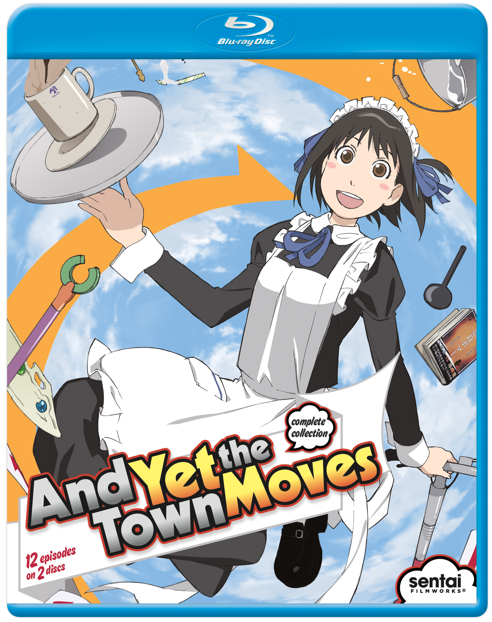 And Yet the Town Moves Blu-ray 814131013095