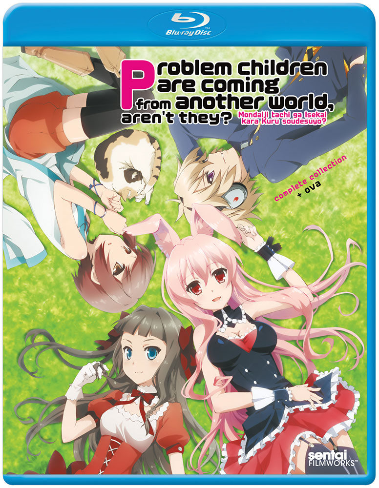Problem Children Are Coming From Another World Blu-ray 814131013255