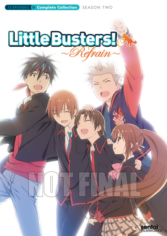 Little Busters Refrain (Season 2) Complete Collection DVD 814131013262