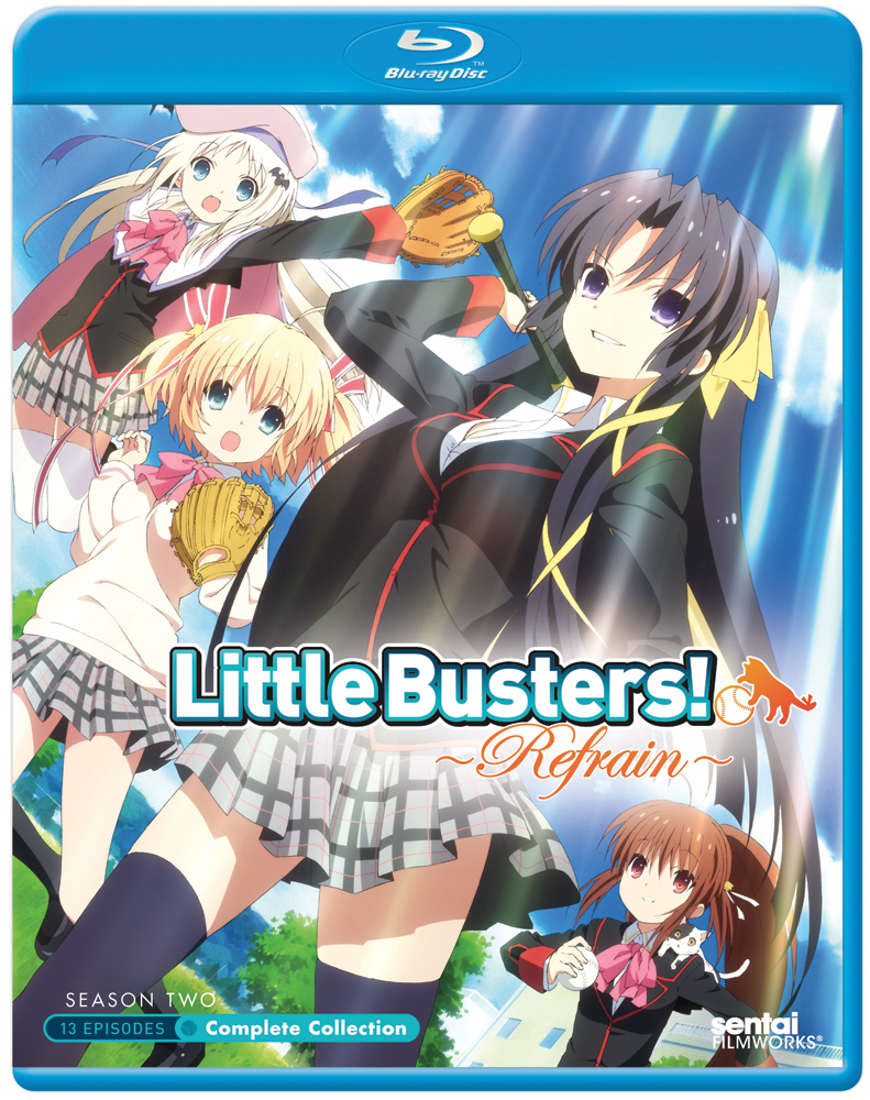 Little Busters Refrain (Season 2) Complete Collection Blu-ray 814131013361